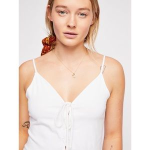 Free People We The Free Cherry Bomb Tank in White
